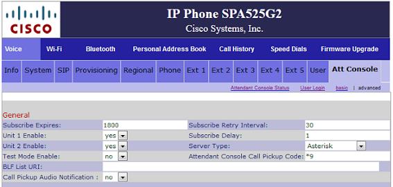 BLF with Cisco SPA525 IP Phone – sipgate team UK